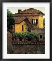 Framed Golden Villa