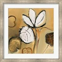 Framed Lily Pond I
