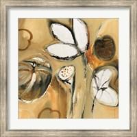 Framed Lily Pond II