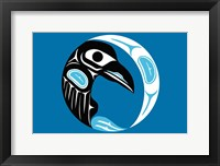 Framed Raven Moon