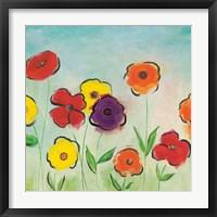 Framed Flowering Garden II
