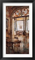 Framed Grand Cafe Cappuccino I