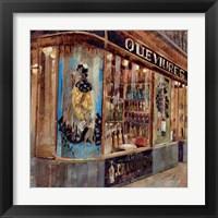 Framed Gourmet Shop