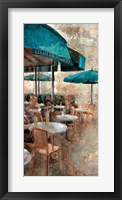 Framed Terraza Cafe Les Deux Magots