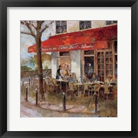 Framed Cafe Saint-Louis