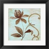 Framed Floral Souvenir II
