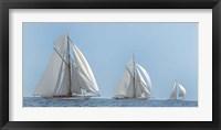 Framed Three Sails