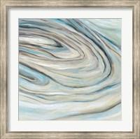 Framed Blue Amethyst