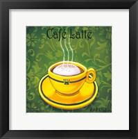 Framed Cafe Latte