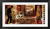 Framed Urban Jazz