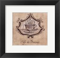 Framed Cafe De Provence