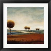 Framed Tranquil Plains I