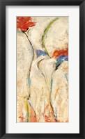 Framed Flores II
