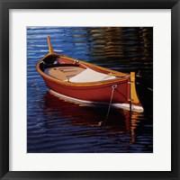 Framed Piccolo Barca Rossa