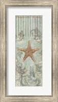Framed Seaside Heirloom II