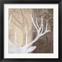 Framed Deer Lodge II