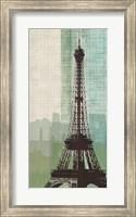 Framed Eiffel Tower II