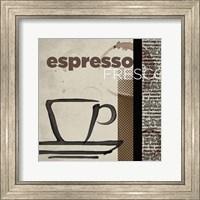 Framed Espresso Fresco