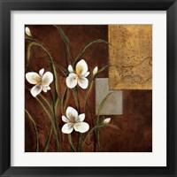 Framed Orchid Melody I