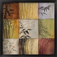 Framed Bamboo Nine Patch II