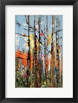 Framed Eclectic Forest