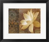 Framed Lettre D'Amour II