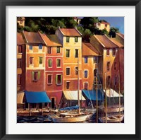 Framed Portofino Waterfront