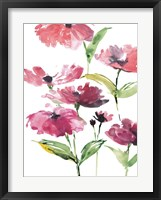 Framed Tickled Pink Posies