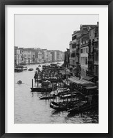 Framed Array of Boats, Venice