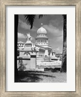 Framed Capitol Building Havana Cuba