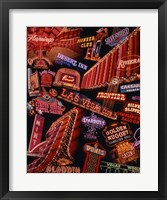 Framed Strip Neon Signs Las Vegas