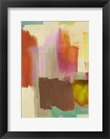 Framed Colorful Sensation I