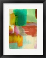 Framed Colorful Sensation II