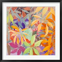 Framed Giungla colorata (detail)