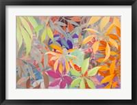 Framed Giungla colorata