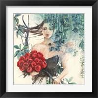 Framed Fairy of the Roses (detail)