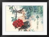 Framed Fairy of the Roses
