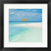 Framed Pomeriggio sul Mare