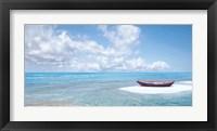 Framed Barca Sulla Riva