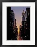 Framed Manhattanhenge