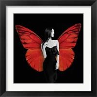 Framed Winged Beauty #2