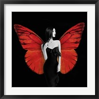Framed Winged Beauty #2