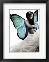 Framed Winged Beauty #1 (detail)