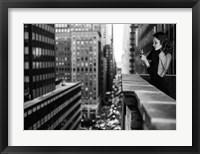 Framed In Manhattan