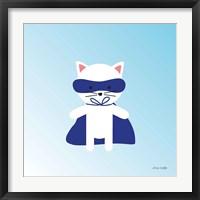 Framed Cat Super Hero