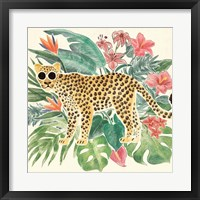 Framed Jungle Vibes Jaguar