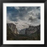 Framed Scenic Landscape I
