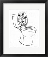 Framed Bathroom Puns IV