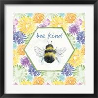 Framed Bee Harmony VII