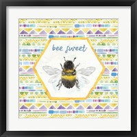 Framed Bee Harmony VI